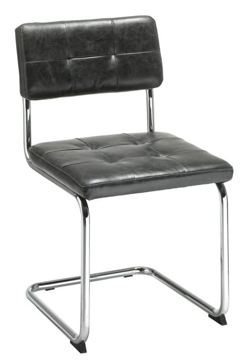 PIPPONI Chaise en porte-à-faux 402349500020 Dimensions L: 48.5 cm x P: 52.0 cm x H: 83.0 cm Couleur Noir Photo no. 1