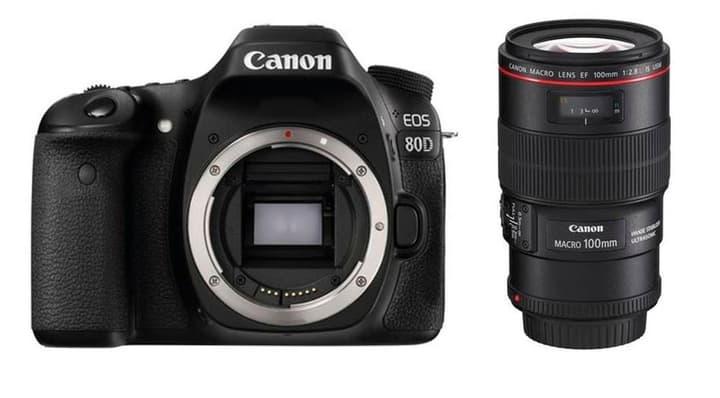 EOS 80D + EF 100mm Makro 2.8L Canon 785300126142 Photo no. 1