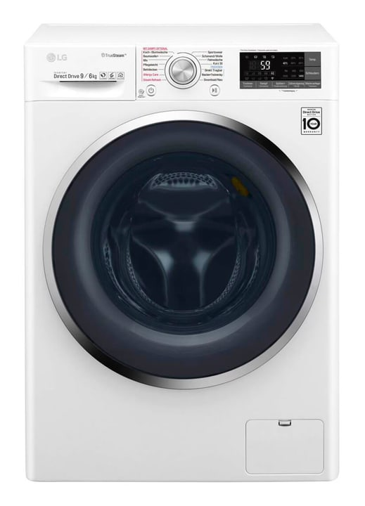 F14WD96TH2 Lave-linge séchant LG 785300134953 Photo no. 1