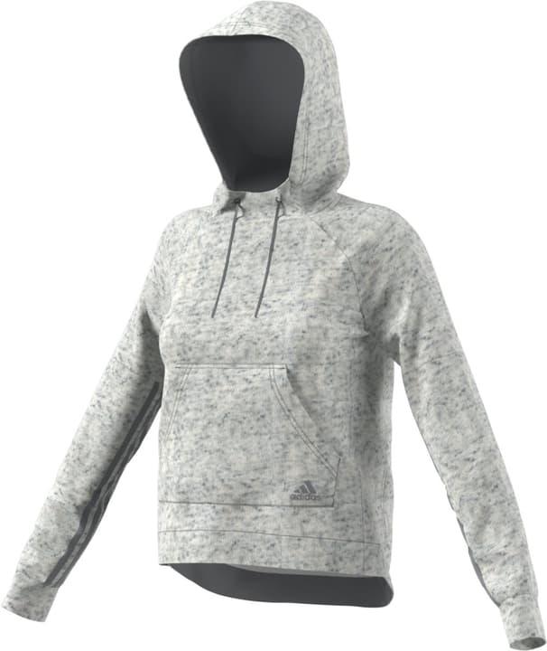 S2S PO HOODY Sweat-shirt à capuche pour femme Adidas 462376800311 Couleur écru Taille S Photo no. 1