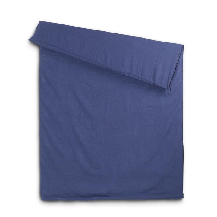 LINEN Housse couette 376008019104 Couleur Bleu jeans Dimensions L: 210.0 cm x L: 160.0 cm Photo no. 1