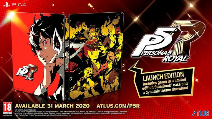PS4 - Persona 5 Royal - Launch Edition F Box 785300150262 Photo no. 1