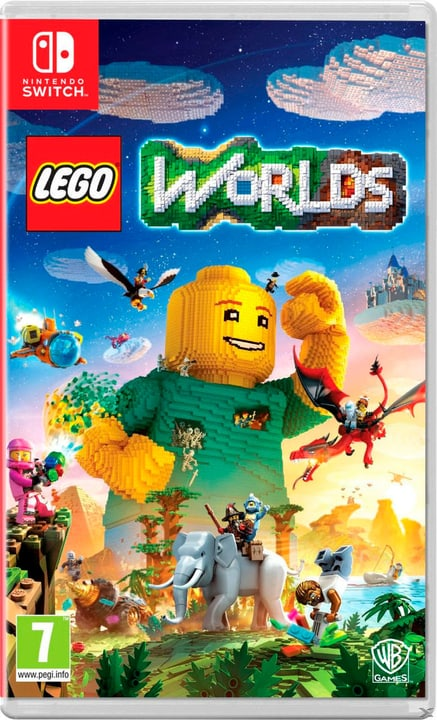 Switch - LEGO Worlds Box 785300128821 Photo no. 1