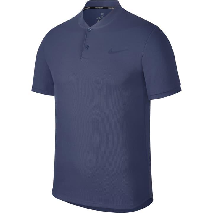 Court Dry Advantage Tennis Polo Polo pour homme Nike 473221600340 Couleur bleu Taille S Photo no. 1