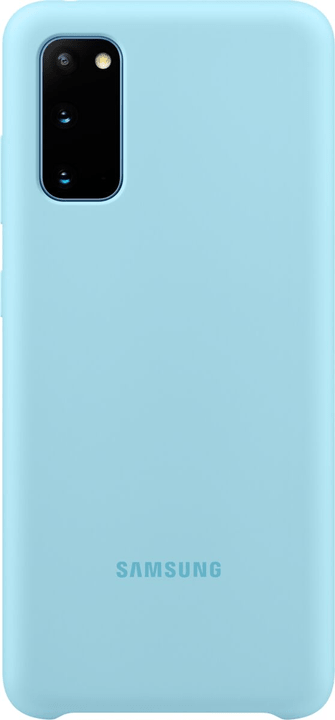 Silicone Hard-Cover Bleu Coque Samsung 785300151164 Photo no. 1