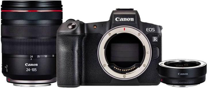 EOS R +RF 24-105 + Ad. EF-R Import appareil photo rhybrid Canon 785300146519 Photo no. 1