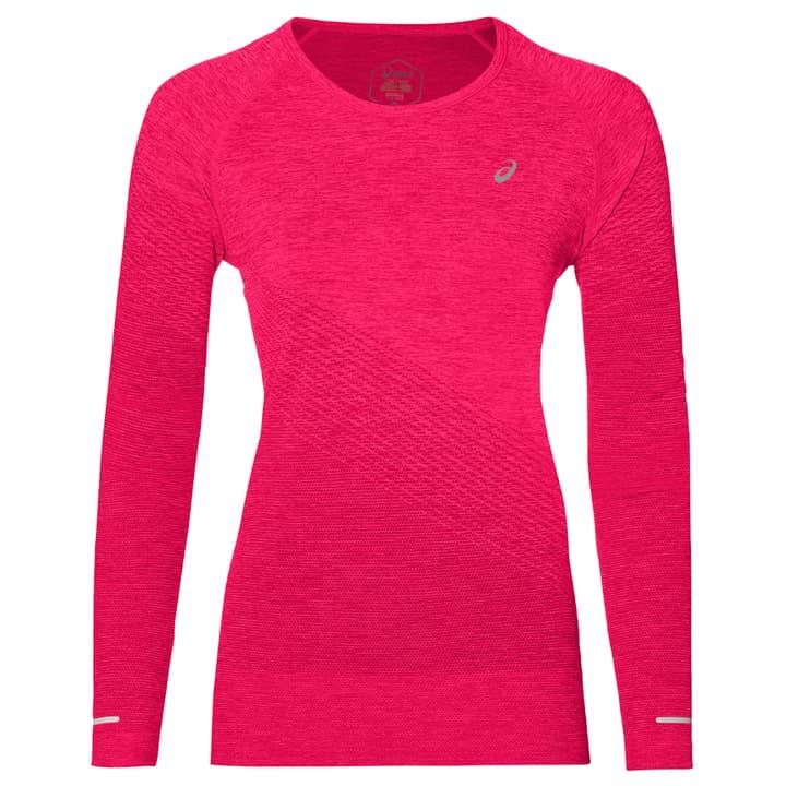 Seamless LS Texture Damen-Langarmshirt Asics 470188900429 Farbe pink Grösse M Bild-Nr. 1