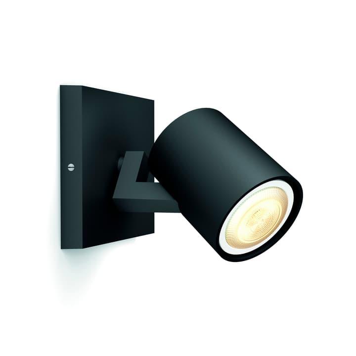 HUE RUNNER Spot nero 1 luci Philips 421412500001 Dimensioni L: 9.0 cm x P: 11.0 cm x A: 10.7 cm x D: 11.0 cm Colore Nero N. figura 1