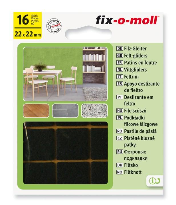Filzgleiter 3 mm / 22 x 22 mm 16 x Fix-O-Moll 607068200000 Bild Nr. 1