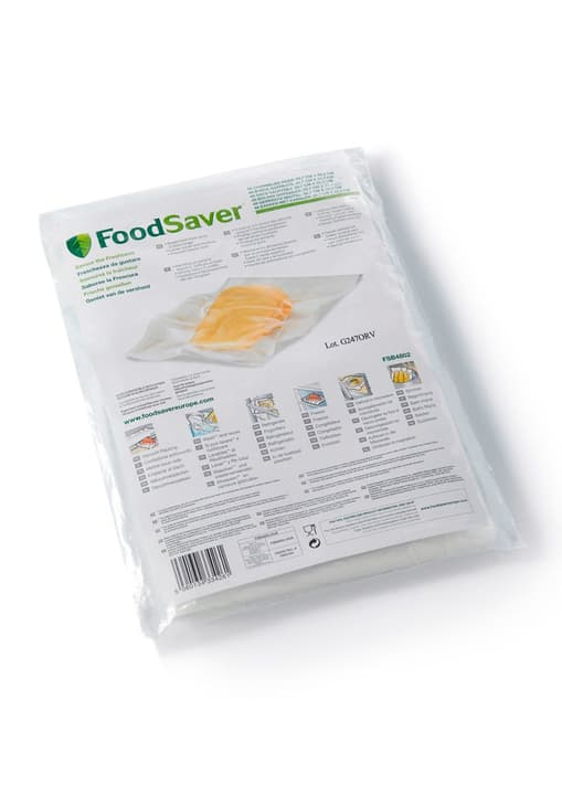 48 sachets: 20.7 x 29.2 cm Sachets FoodSaver 785300124161 Photo no. 1