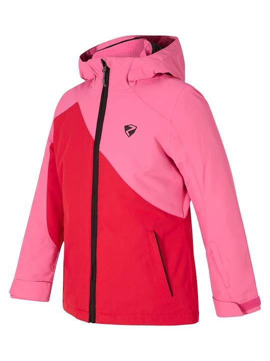 ABELLA Veste de ski pour fille Ziener 466800217630 Couleur rouge Taille 176 Photo no. 1