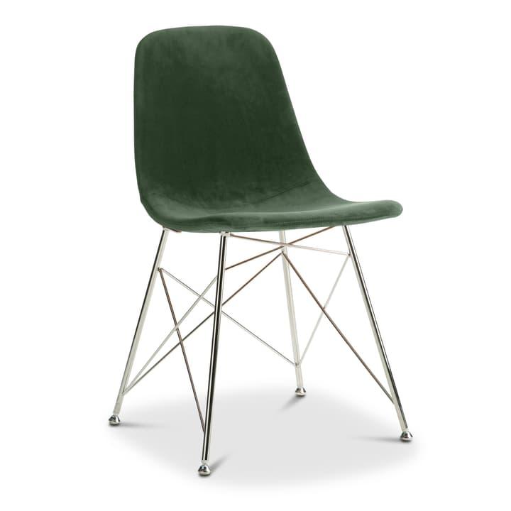 SEDIA Chaise 366169800000 Couleur Vert foncé Dimensions L: 45.0 cm x P: 41.5 cm x H: 84.5 cm Photo no. 1