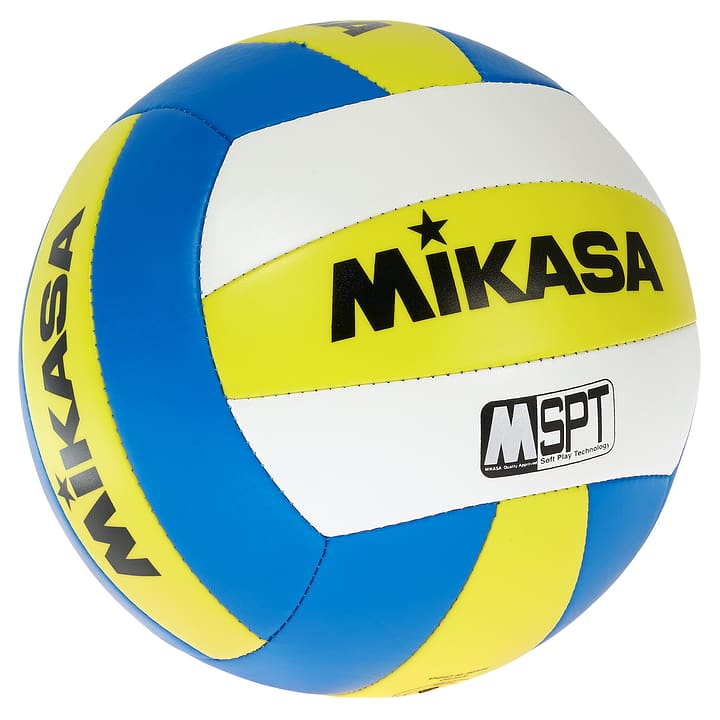 VXS Volley-ball de plage Mikasa 461903000550 Couleur jaune Taille 5 Photo no. 1