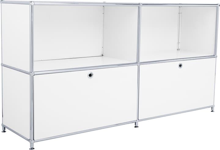 FLEXCUBE Buffet 401809000010 Dimensions L: 152.0 cm x P: 40.0 cm x H: 80.5 cm Couleur Blanc Photo no. 1