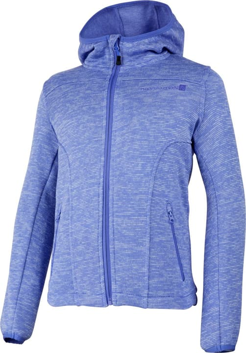 Veste en polaire tricoté pour fille Trevolution 466926112291 Couleur lilas Taille 122 Photo no. 1