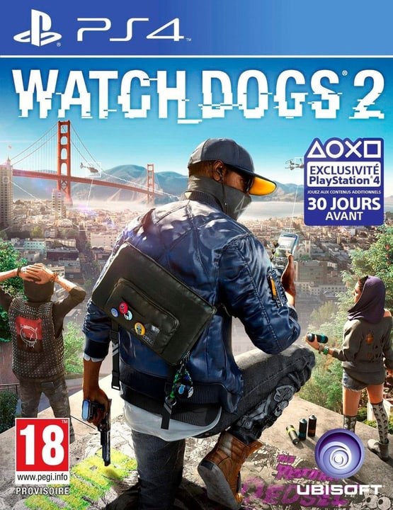 PS4 - Watch Dogs 2 Box 785300121210 Photo no. 1