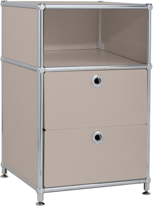 FLEXCUBE Caisson 401816400088 Dimensions L: 40.0 cm x P: 40.0 cm x H: 62.5 cm Couleur Gris taupe Photo no. 1