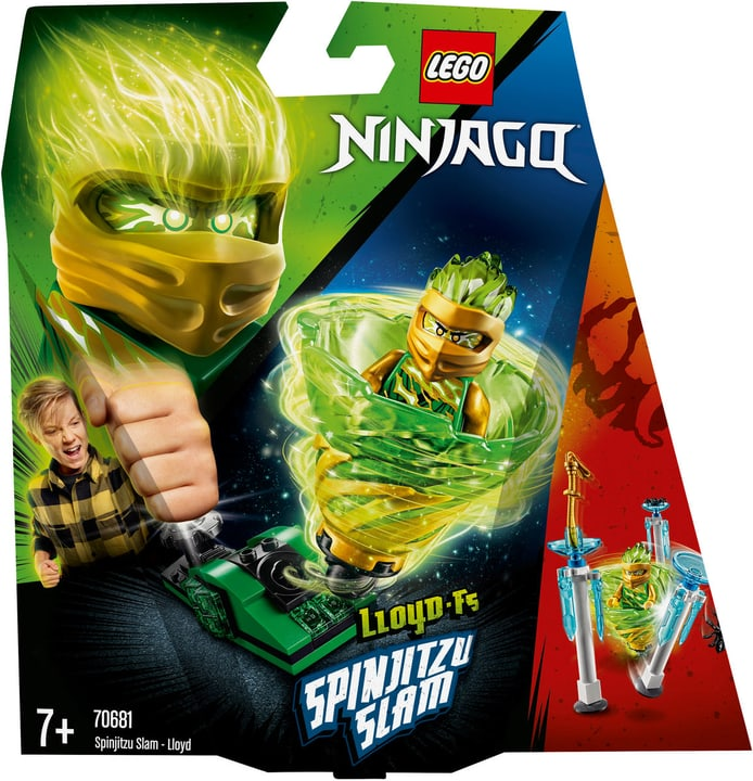LEGO Ninjago 70681 Spinjitzu Lloyd 748892200000 Photo no. 1