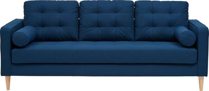 SEIFERT Canapé 3 places 405711130340 Couleur Bleu Dimensions L: 204.0 cm x P: 81.0 cm x H: 81.0 cm Photo no. 1