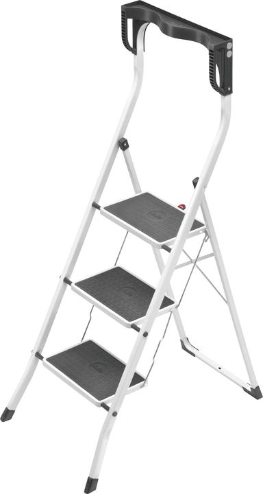 sgabello pieghevole Safety Plus Hailo 630904900000 Numero di livelli 3 N. figura 1