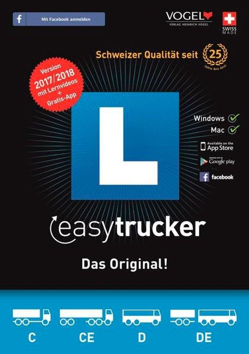 PC/MAC - easytrucker 2017/18 Theorieprüf. f. Lastwagen [Kat. C/CE+D/DE] (D/F/I) 785300122662 Photo no. 1