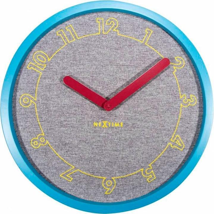 Wanduhr Calmer Blau Durchmesser Wanduhr NexTime 785300138524 Bild Nr. 1