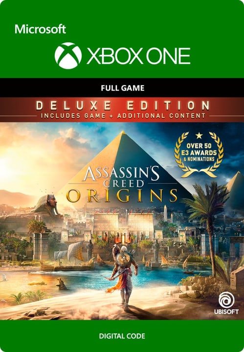 Xbox One - Assassin's Creed Origins: Deluxe Edition Digitale (ESD) 785300136376 N. figura 1