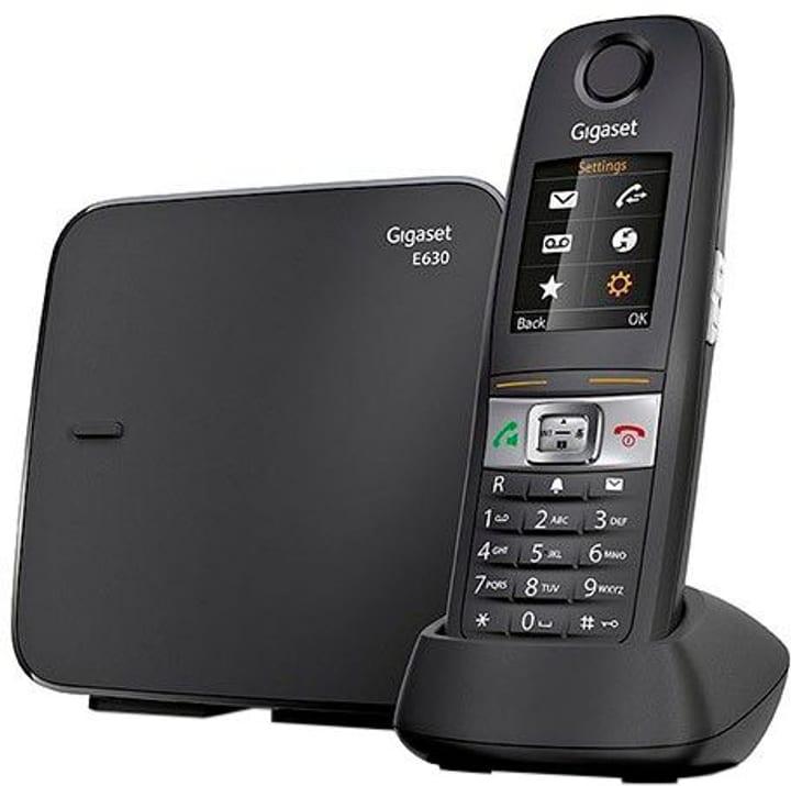 E630 noir Téléphone fixe Gigaset 785300123482 Photo no. 1