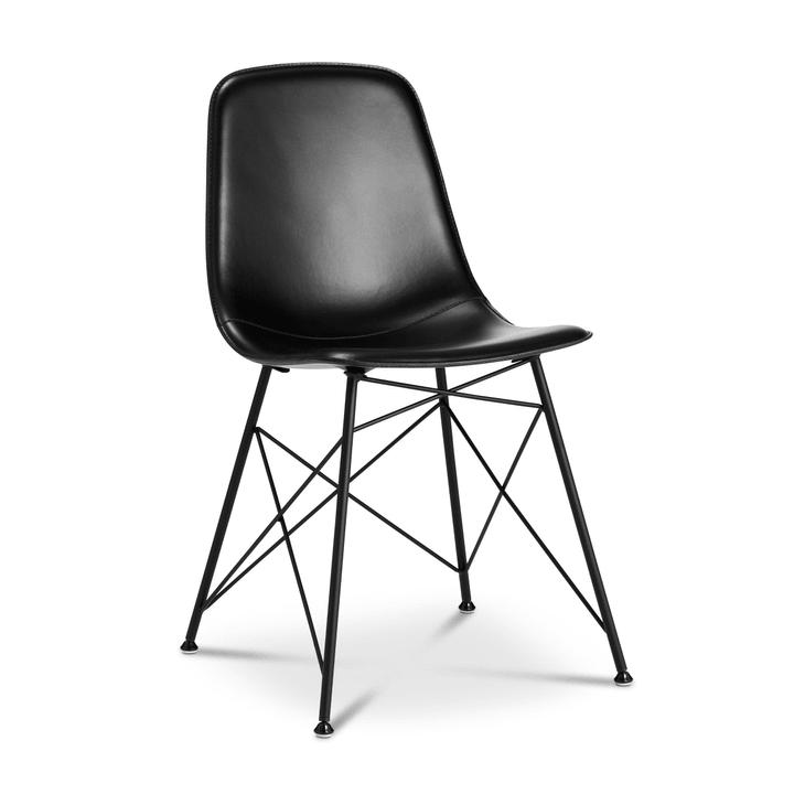 SEDIA Chaise 366153300000 Couleur Noir Dimensions L: 45.0 cm x P: 41.5 cm x H: 85.5 cm Photo no. 1