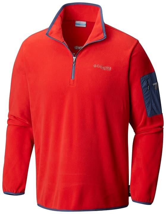 Titan Pass 1.0 Half Zip Fleece Herren-Fleecepullover Columbia 460353200430 Farbe rot Grösse M Bild-Nr. 1