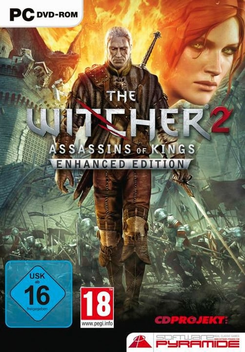 PC - Pyramide: The Witcher 2 - Assassins of Kings D Box 785300130588 N. figura 1