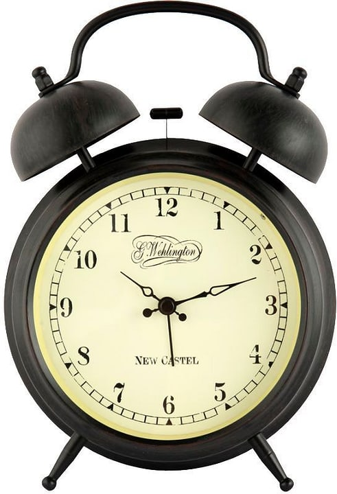 Horloge de table Aaltje Marron 9cm Diam NexTime 785300138464 Photo no. 1