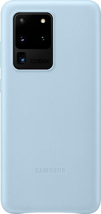 Leather Cover sky blue Hülle Samsung 785300151150 Bild Nr. 1