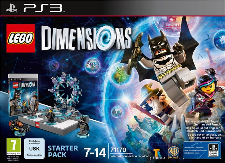 PS3 - LEGO Dimensions Starter Pack Box 785300119838 Photo no. 1