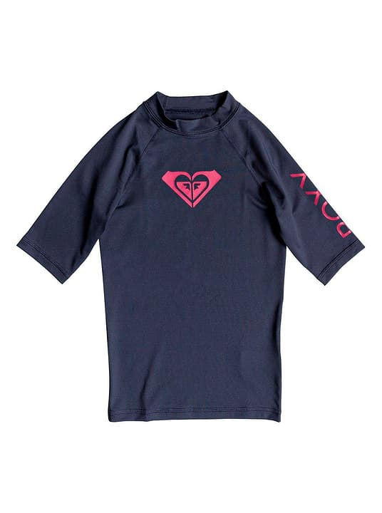 T-shirt de bain U.V.P. pour fille Roxy 464550614043 Couleur bleu marine Taille 140 Photo no. 1