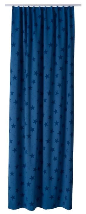 TEODORA Fertigvorhang blickdicht 430270821840 Farbe Blau Grösse B: 140.0 cm x H: 270.0 cm Bild Nr. 1