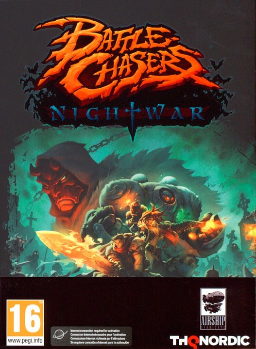 PC - Battle Chasers: Nightwar Physique (Box) 785300128886 Photo no. 1