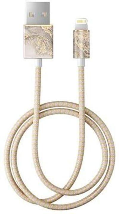 "Câble 1.0m, Lightning->USB  ""Sparkle Greige Marble"" Câble iDeal of Sweden 785300148097 Photo no. 1"