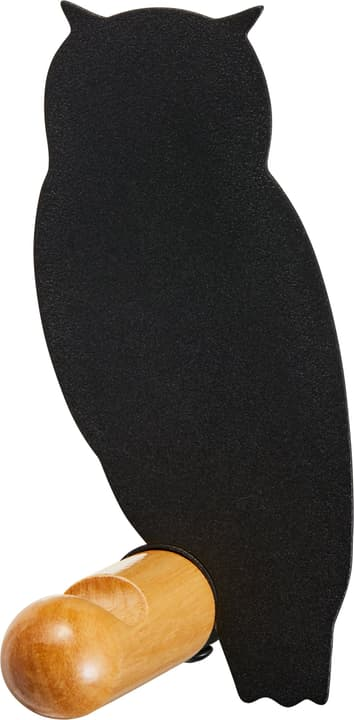 NELSON Gancio per abiti 407332200220 Dimensioni L: 4.8 cm x P: 7.5 cm x A: 12.0 cm Colore Nero N. figura 1