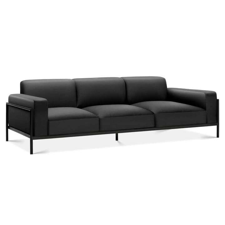 SOMA 3er Sofa Edition Interio 360442430320 Grösse B: 319.0 cm x T: 88.5 cm x H: 85.0 cm Farbe Schwarz Bild Nr. 1