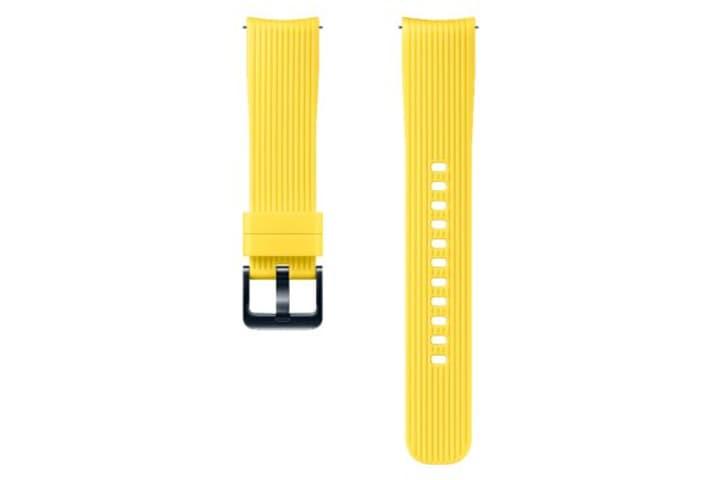 Galaxy Watch (42 mm) Silicone Band 20 mm gelb Armband Samsung 785300138285 Bild Nr. 1