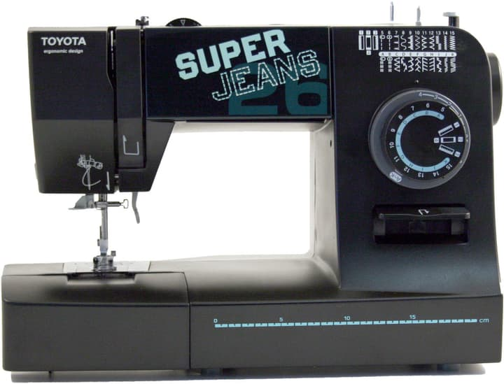 Super Jeans 26 XL Machine à coudre mécanique Toyota 717495900000 Photo no. 1