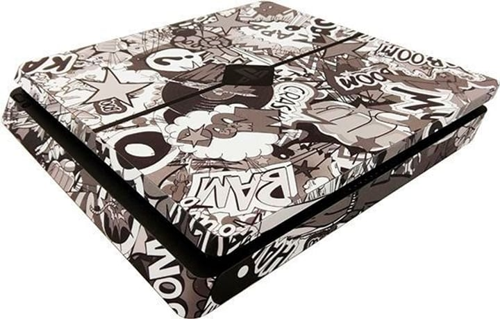 Stickerbomb noir/blanc PS4 Epic Skin 785300128631 Photo no. 1