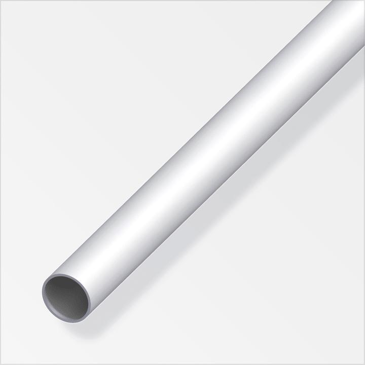 Rund-Abschlussprofil 5.8 x 22 mm silberfarben 1 m alfer 605138600000 Bild Nr. 1