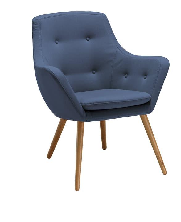 FLORIN Fauteuil 402441007040 Dimensions L: 73.0 cm x P: 70.0 cm x H: 82.0 cm Couleur Bleu Photo no. 1