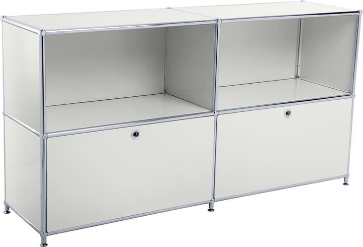 FLEXCUBE Sideboard 401814020281 Grösse B: 152.5 cm x T: 40.0 cm x H: 80.5 cm Farbe Hellgrau Bild Nr. 1