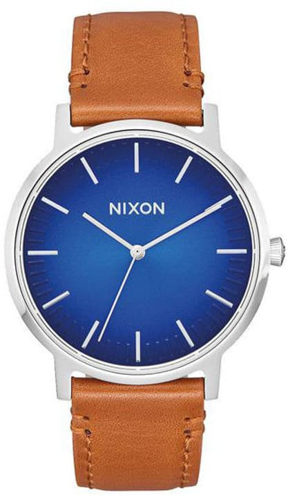 Porter Leather Blue Ombre Saddle 40 mm Montre bracelet Nixon 785300136980 Photo no. 1
