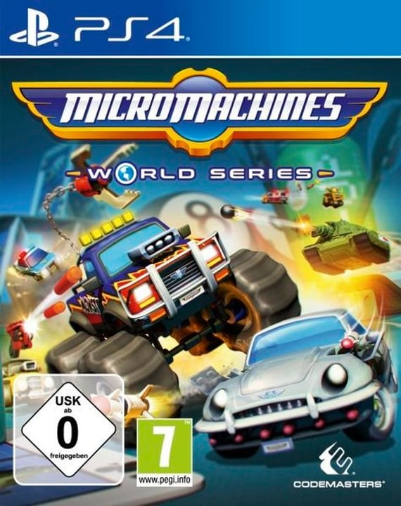 PS4 - Micro Machines World Series Box 785300122324 Photo no. 1