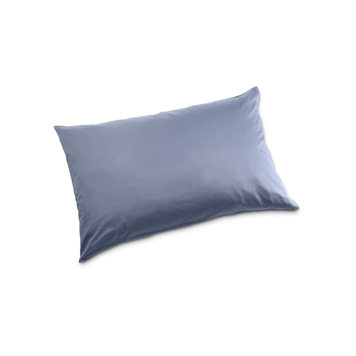 KOS Taie d'oreiller Satin 376026468901 Couleur Bleu rayé Dimensions L: 70.0 cm x L: 50.0 cm Photo no. 1