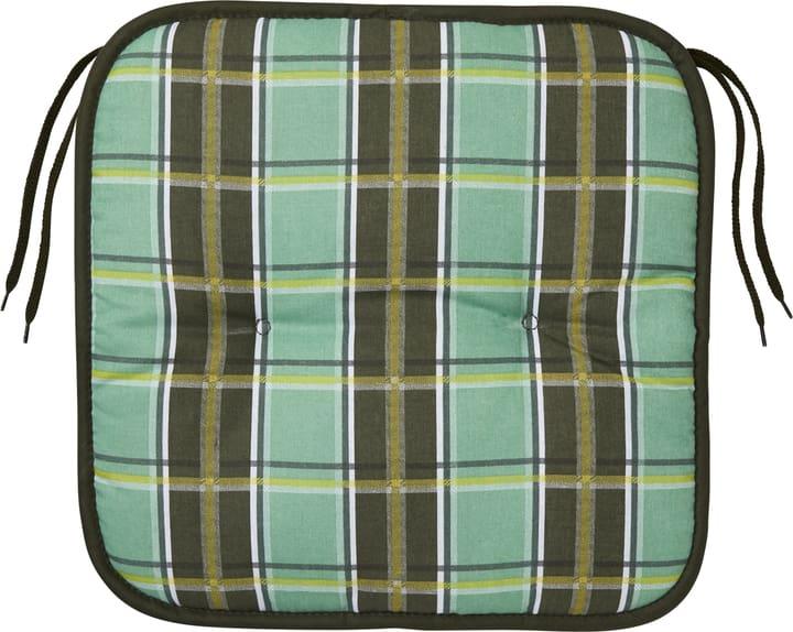 MAJA Coussin d'assise 753336204060 Taille L: 40.0 cm x P: 40.0 cm x H: 4.0 cm Couleur Vert Photo no. 1